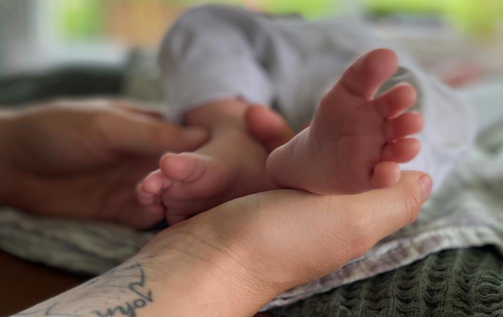 Fussreflexzonenmassage ein echtes Naturheilmittel - auch bei Kindern